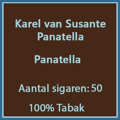 Karel van Susante Panatella 50 st.