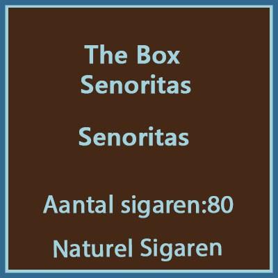 The Box Senoritas 80 st.