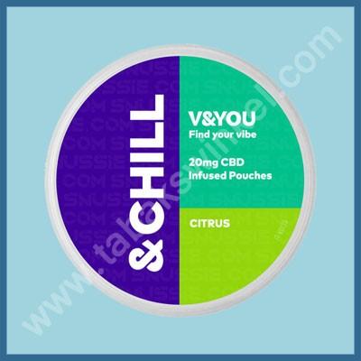 V&you &Chill Citrus 20mg/g CBD