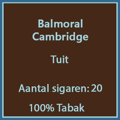 Balmoral Cambridge 20 st.