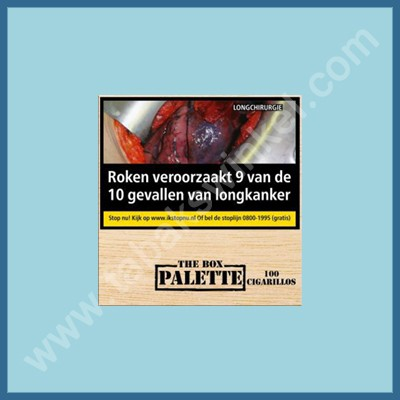 Palette cigarillos 100 st