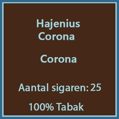 Hajenius Corona 25 st.