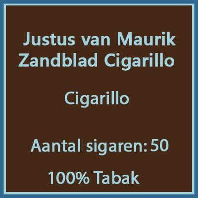 Justus van Maurik Zandblad 50 st.