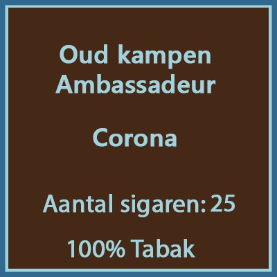Oud kampen ambassadeur 25 st