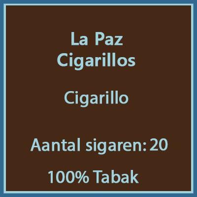 La Paz Cigarilos 20 st.